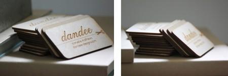 DANDEE DESIGNS — A Durable Business Card