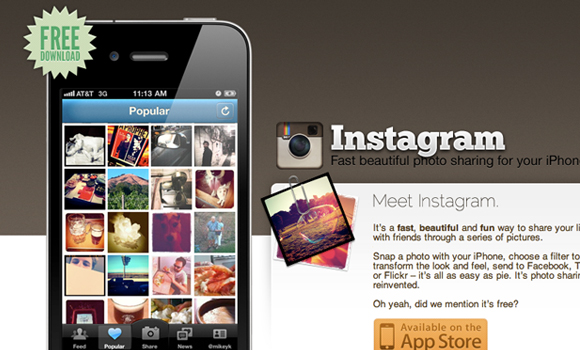 Instagram Iphone App Website