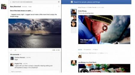 GoogleFacebook comparison
