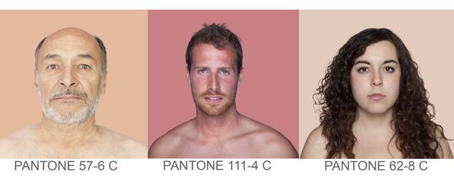 Tonos de piel en PANTONE