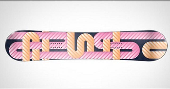 Candy Inspired Skateboard