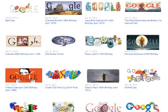 Google Doodle Samples