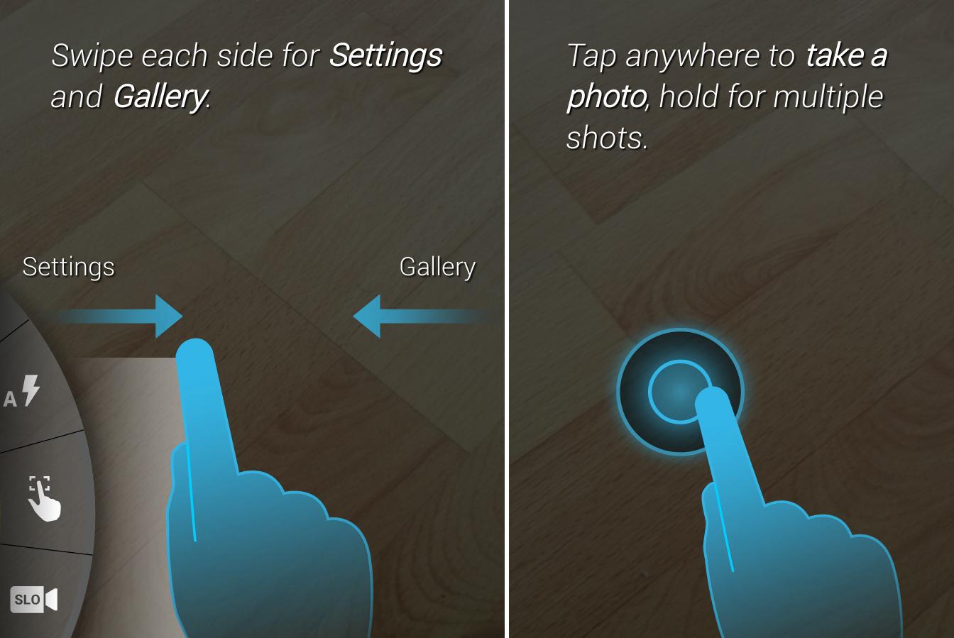 Moto X Kamera App Tutorial