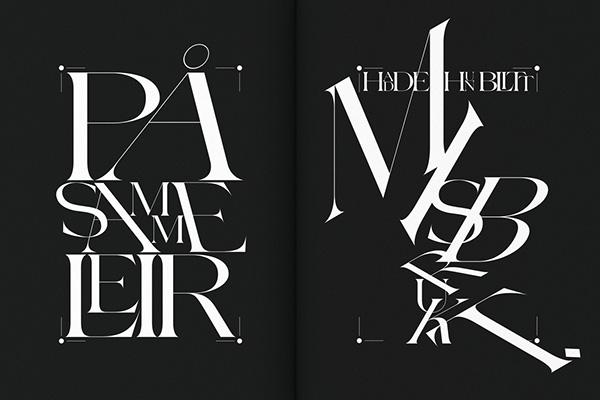 Diseño Editorial De Ord For Dagen Mordknull Por Non Format Experimenta 05