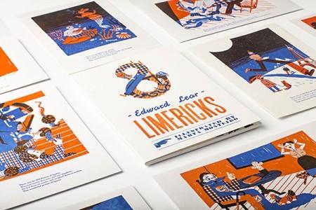 Limericks, Marta Monteiro, Obsolete letterpress, 2015. © Quevieneeelcoco.