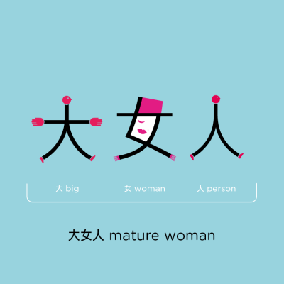 Chineasy_FB_Phrases_1_MatureWoman