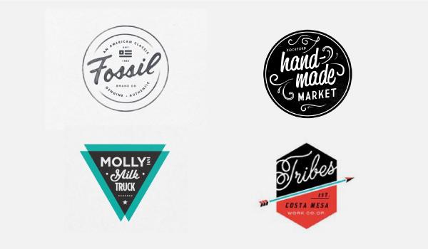 Crear Logos Retro