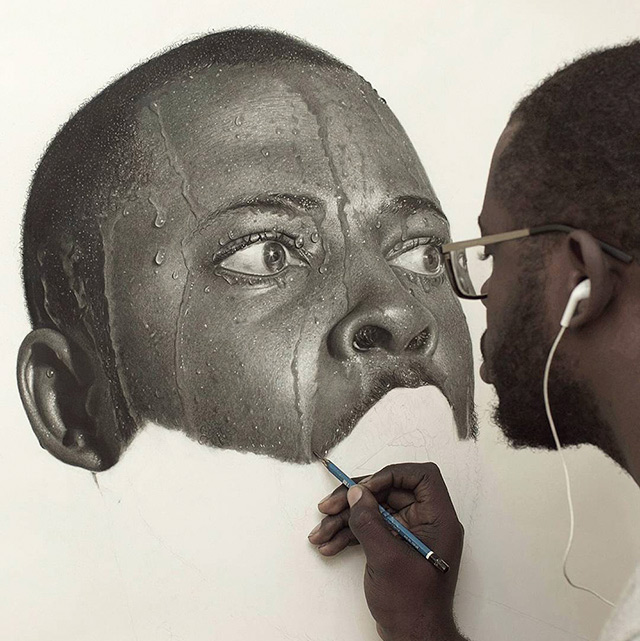 Hyperreal Pencil Drawings Nigerian Arinze Stanley Thumb640