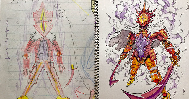 Sons Doodles To Anime Characters Thomas Romain Thumb640